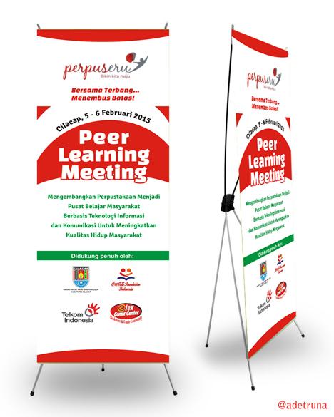 X Banner Peer Learning Meeting Cilacap