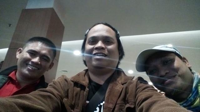 Blogger Bandung : Fauzi (kiri) dan Bang Aswi
