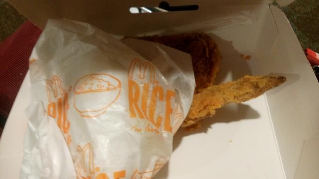 isi fried chicken mc donald yang menjadi delay service kemarin