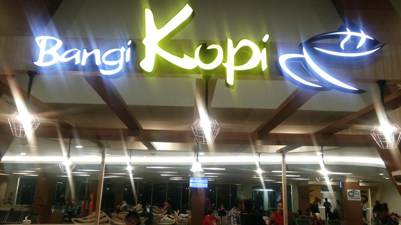Bangi Kopi tempat saya dan teman-teman menghabiskan waktu untuk terbang ke Jogyakarta