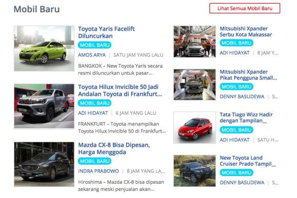 halaman mobil123 paling keren nih; menampilkan mobil-mobil baru